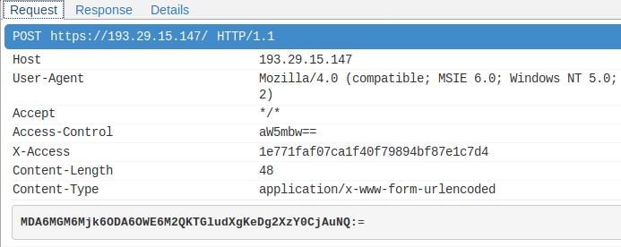 HTTPS packet